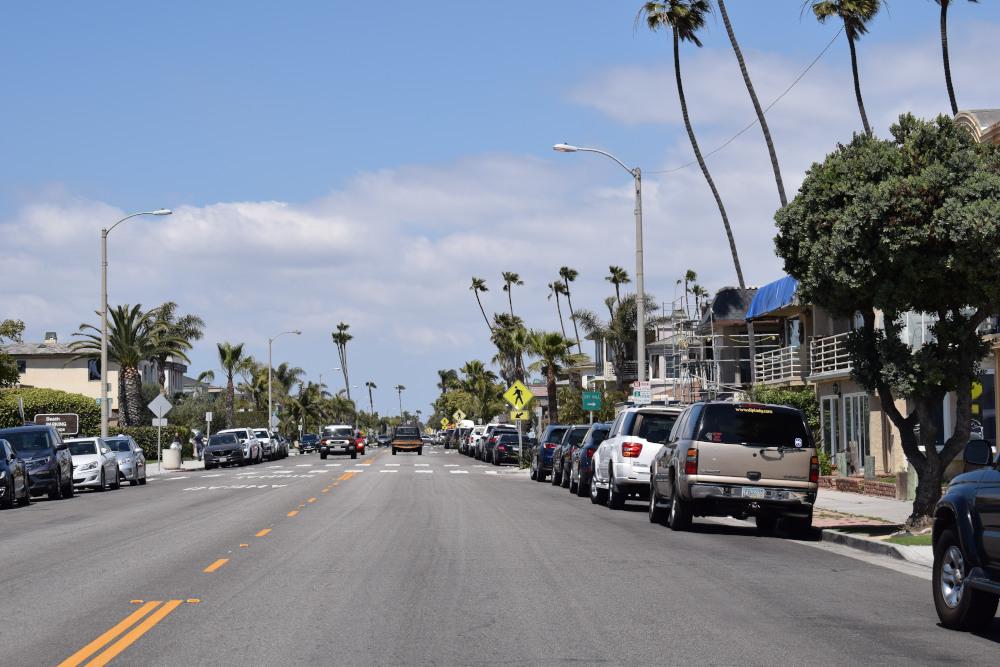 Rues de la côte ouest USA