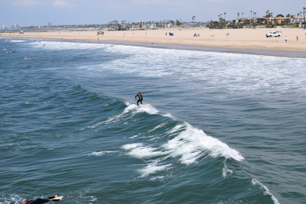 ride and surf en californie