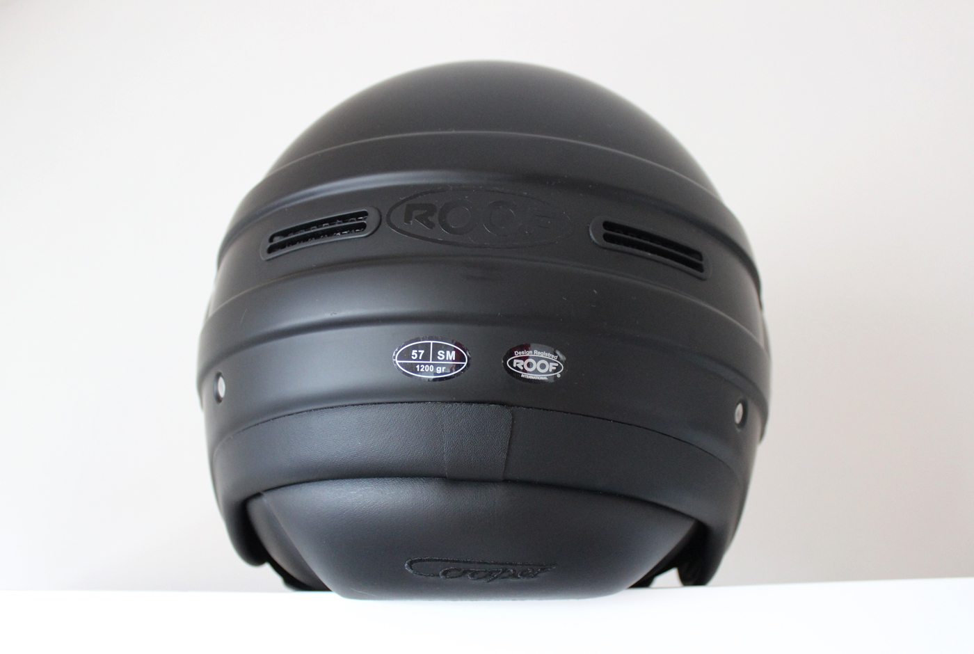 Design du casque Roof RO35 Cooper