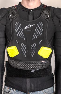 Essai du gilet de protection Alpinestars Bionic Pro V2