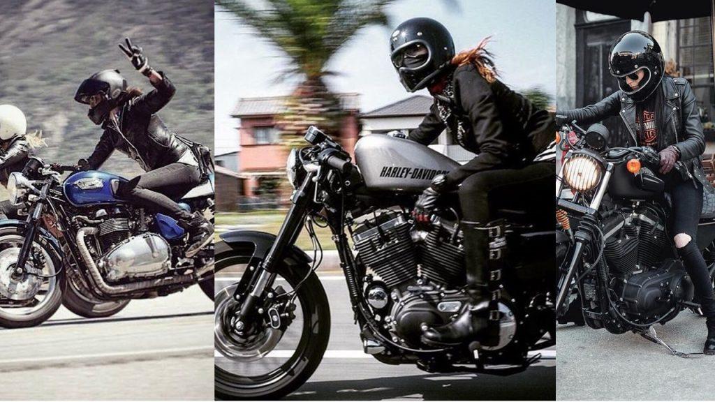 sélection pour tenue moto pour femmes