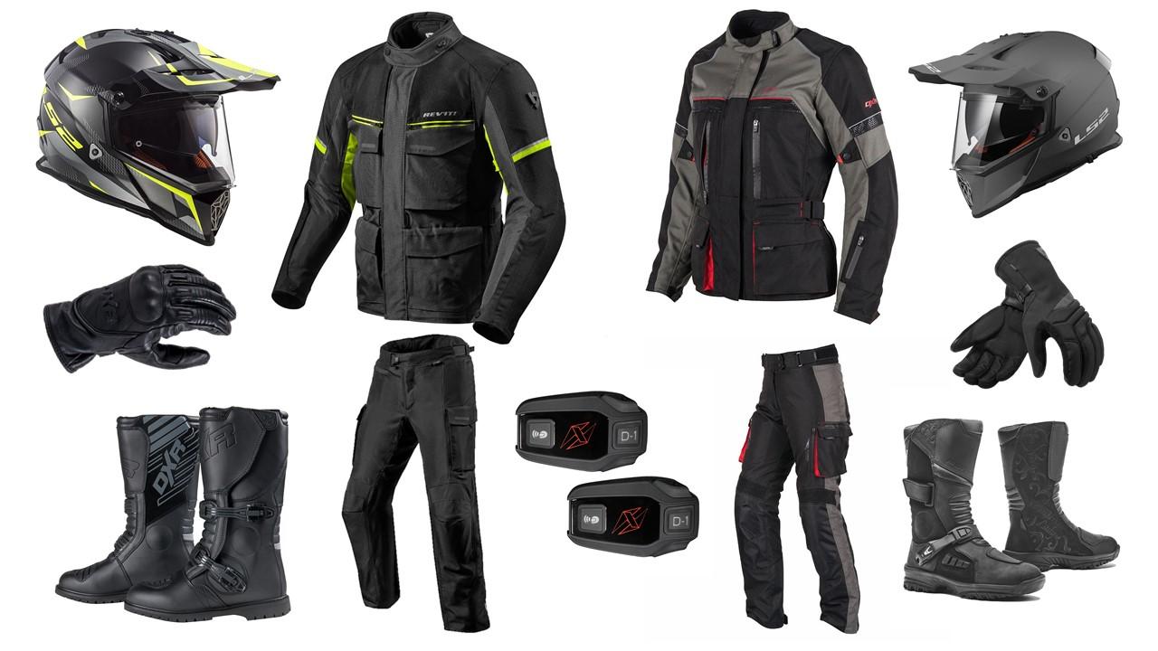 sélection équipements moto pour voyager