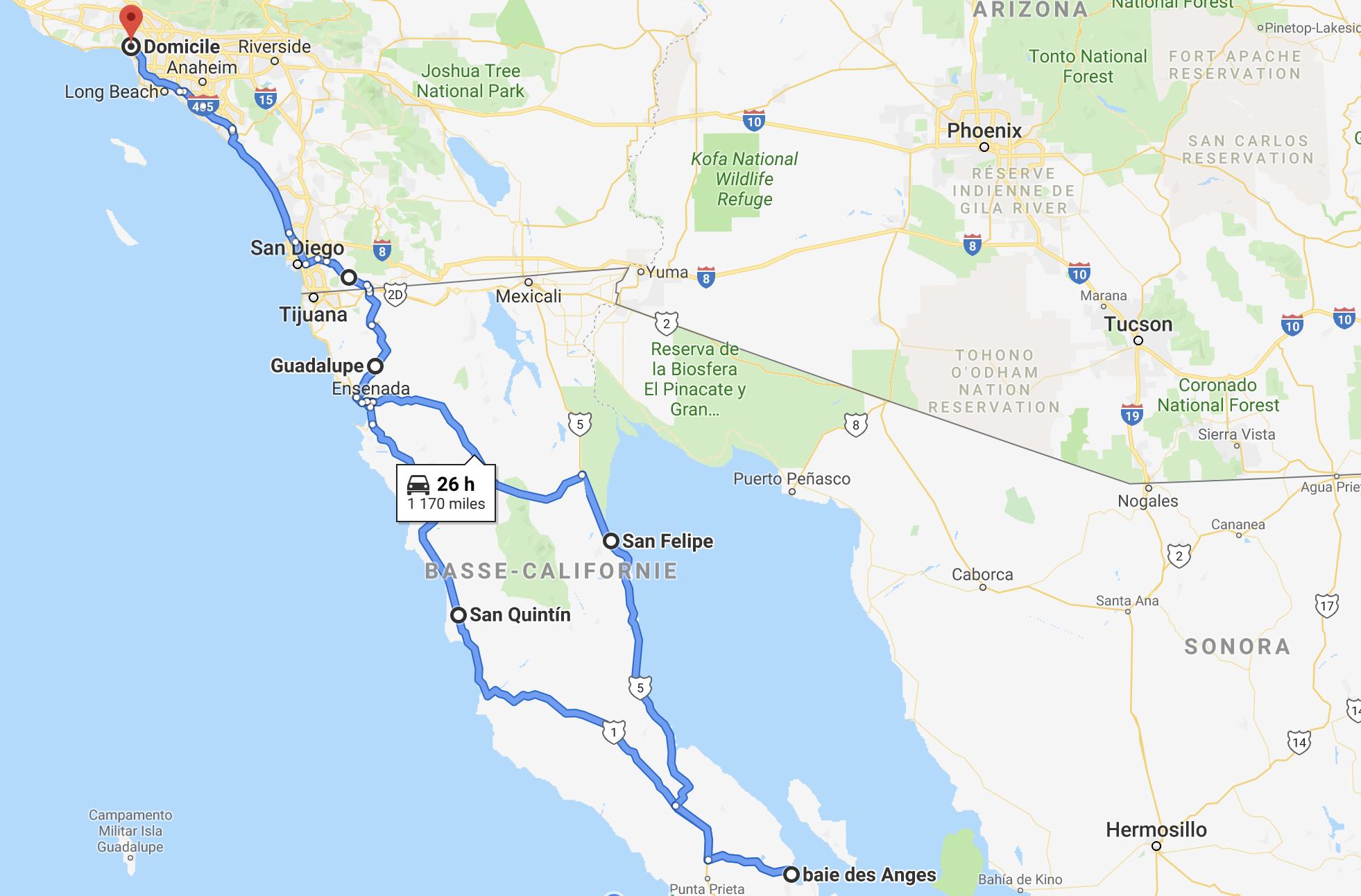 boucle en basse californie du nord
