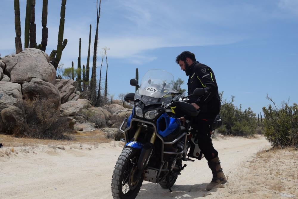 Basse Californie Nord en moto