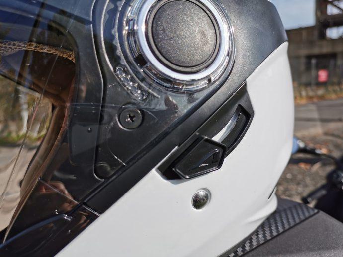 écran solaire du casque jet Astone FJ10