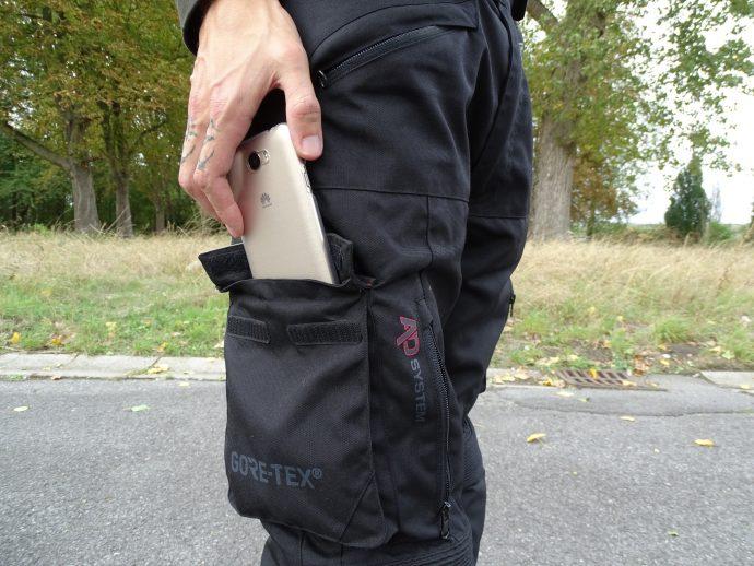 pantalon textile Bering California : choisi pour ses grandes poches