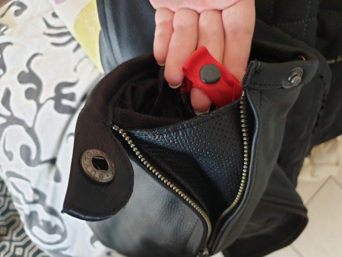 simplicité d'utilisation du blouson DXR Jude CE