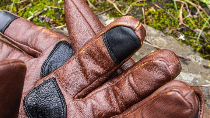 Index compatible tactile pour les gants Helstons Spartan