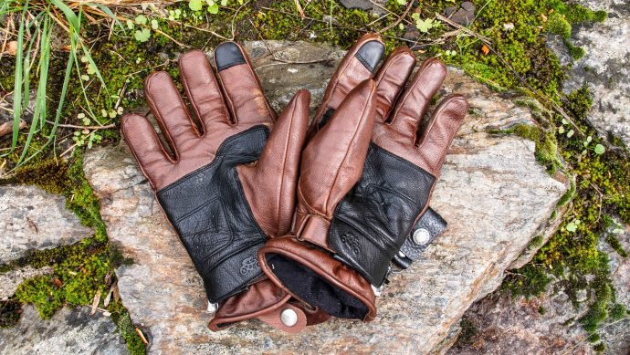 les gants Helstons Spartan à l'essai