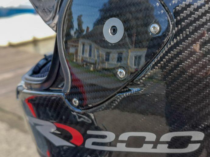 Finitions du casque Roof RO200 Carbon