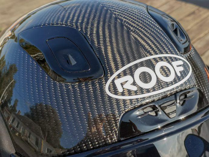 ventilations et aérations du Casque Roof RO200 Carbon