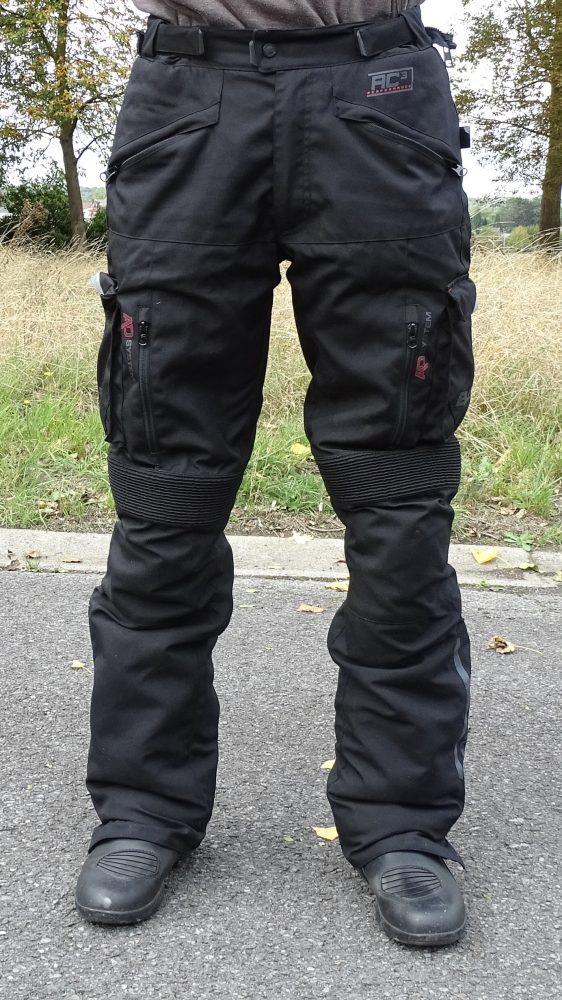 Essai du pantalon textile Bering California à l'essai en roadtrip