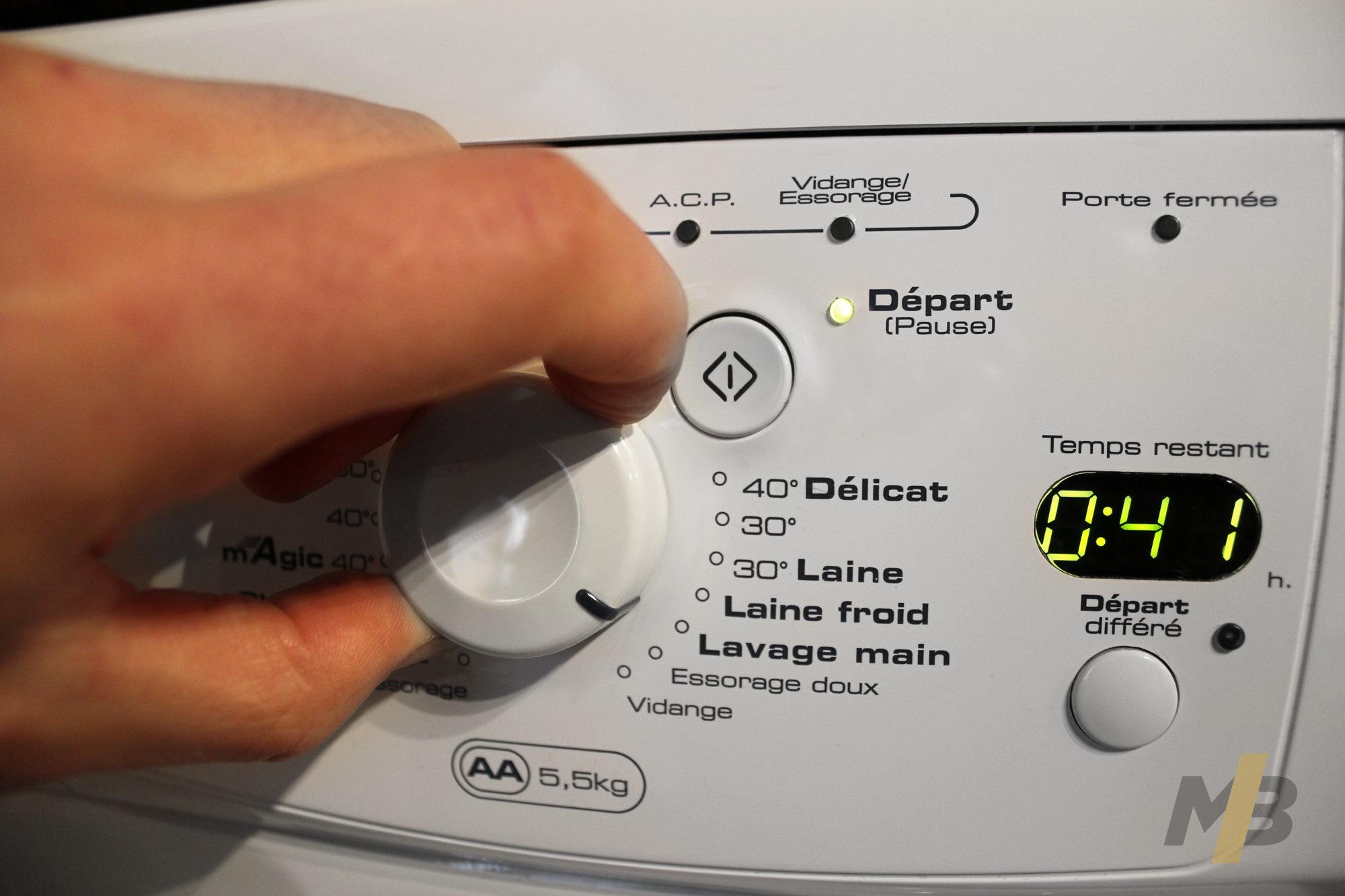 Machine programme lavage main