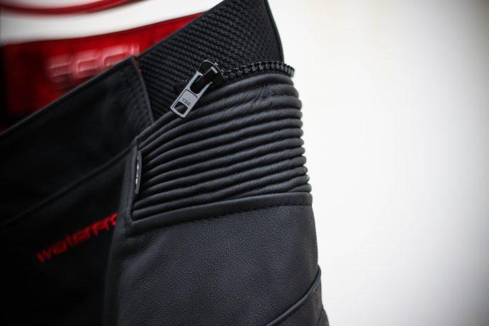 zip de raccordement du pantalon segura kooper