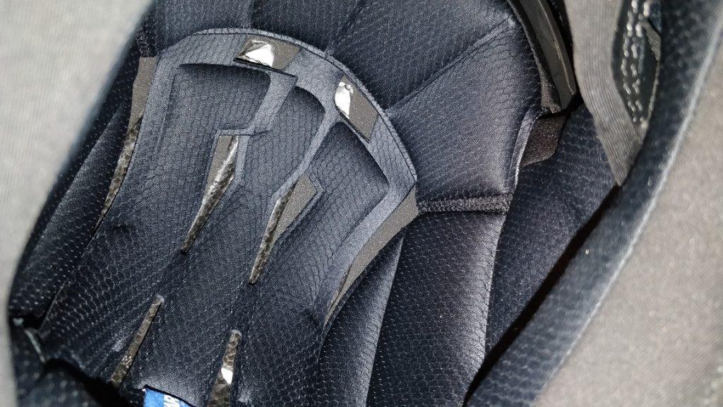 Mousses intérieures du casque Shark Spartan Carbon Priona