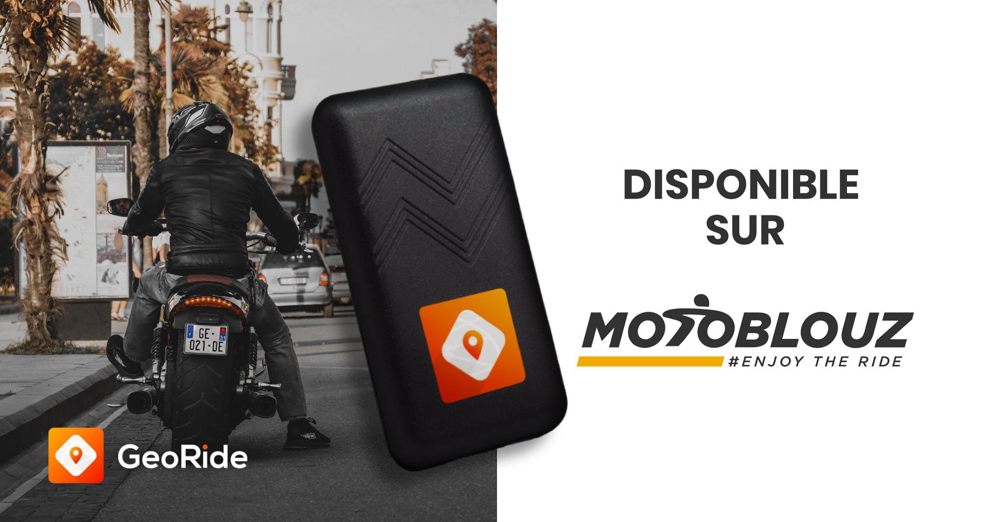 GeoRide, une moto connectée, une moto protégée