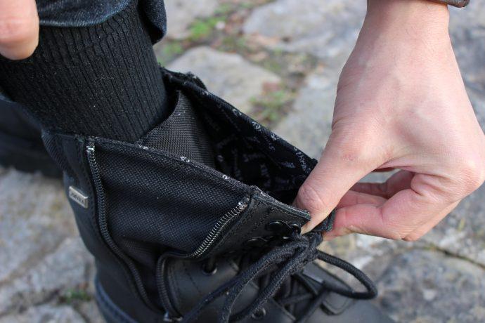 Plus bel atout de ces bottes : l'enfilage facilité !