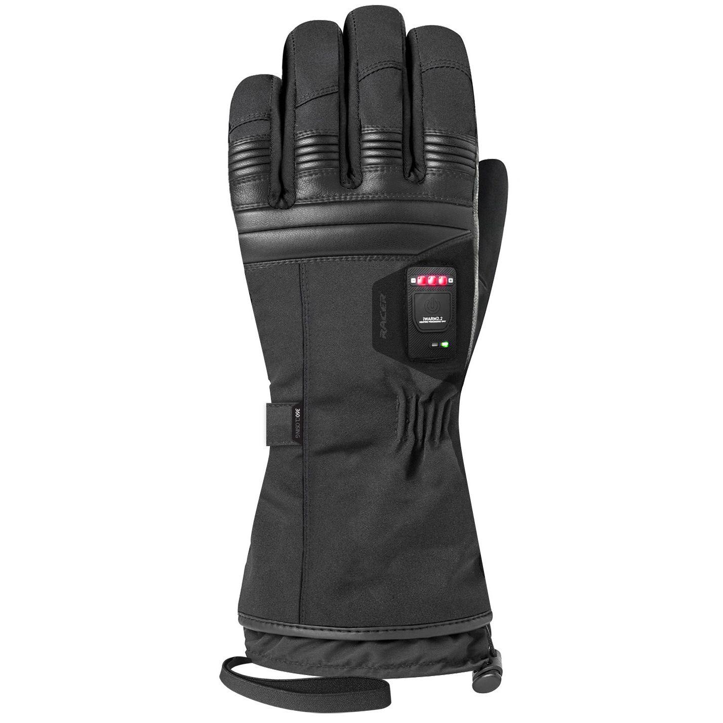 gants chauffants racer connectic 4