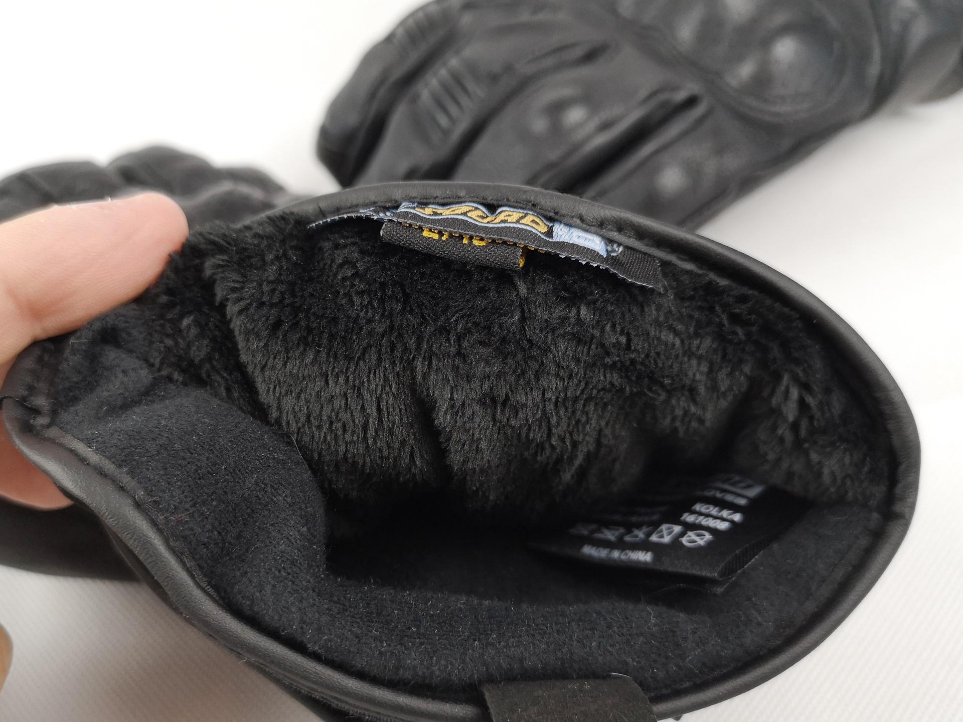 Thinsulate gants moto chauffants