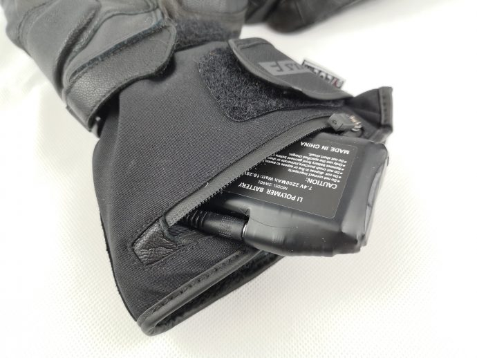 batteries des gants chauffants Esquad Kolka