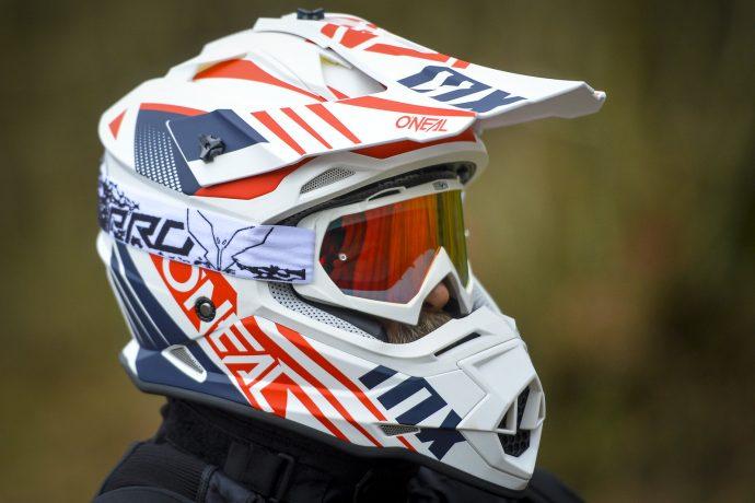 casque cross O'Neal 2 Series testé avec masque ProV