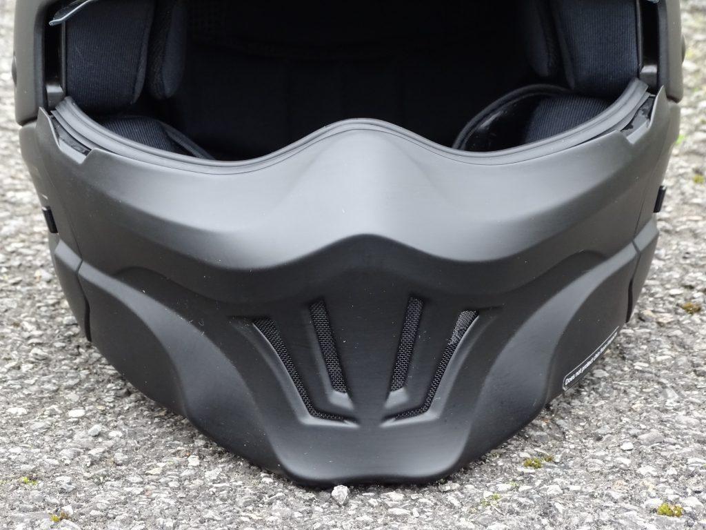 Le nouveau masque Evo s'adapte aussi sur le Scorpion Exo Combat classique