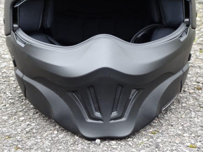 Nouveau masque sur le casque Scorpion Exo-Combat Evo