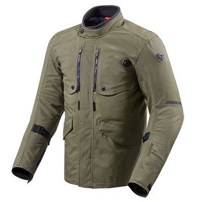 Essai de la veste Rev'it Trench GTX