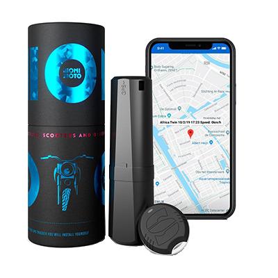 Essai de l'antivol MoniMoto Tracker GPS