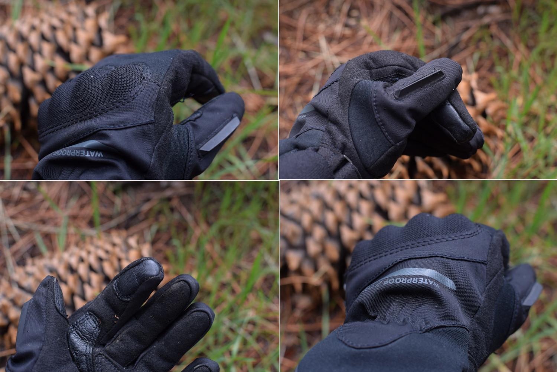 détails gants Dainese Aurora Lady