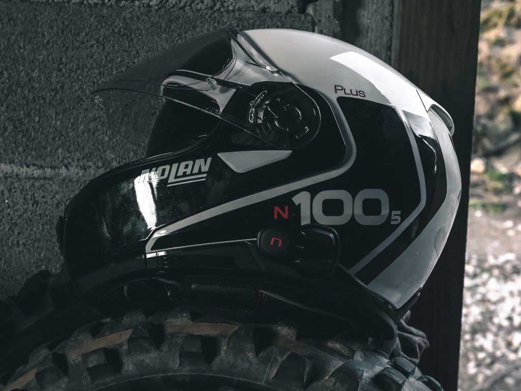 design du casque Nolan N100.5 PLus
