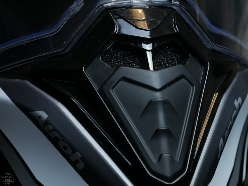 ventilation du casque Airoh Commander