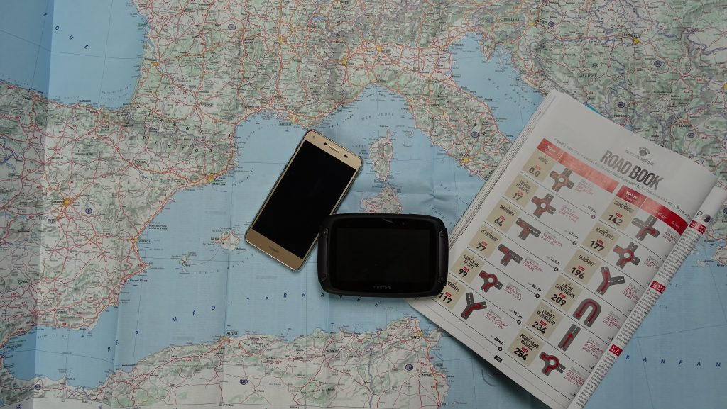 Roadbook, carte, GPS, application smartphone, à vous de choisir votre mode de navigation