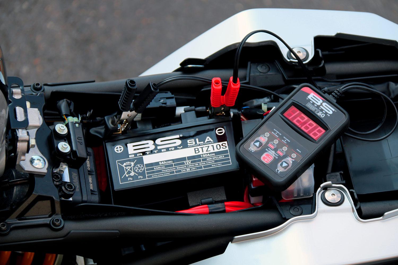 Testeur de batterie moto