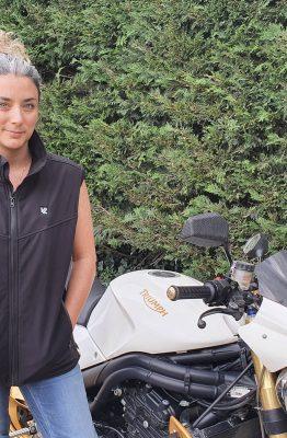 essaie de la veste chauffante V'Quattro Alpina