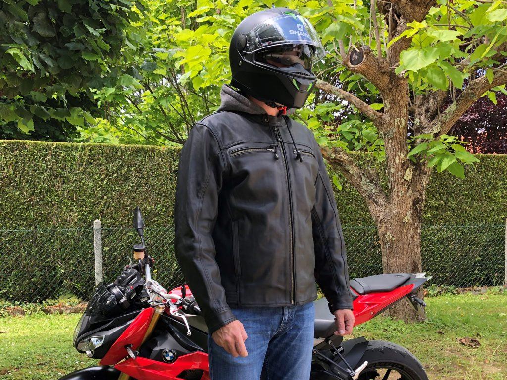 Blouson cuir DXR Zack – Un look passe partout