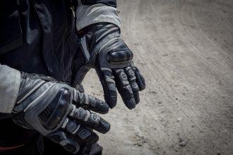essai des gants Rev'it Dominator sur piste
