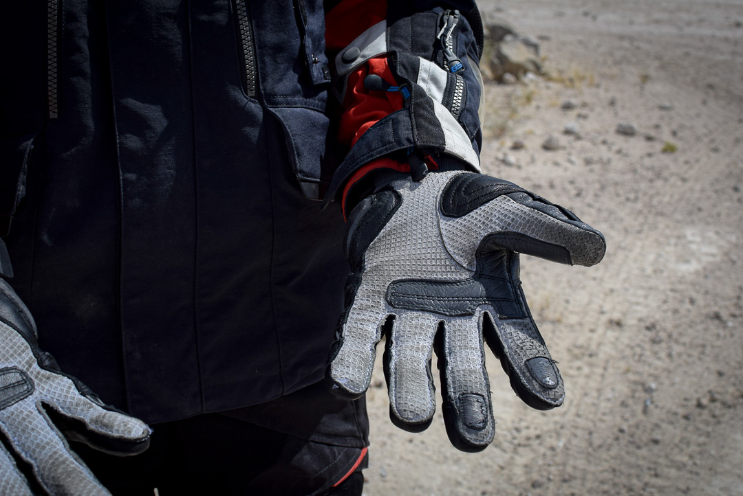 gants Rev'it Dominator face interne