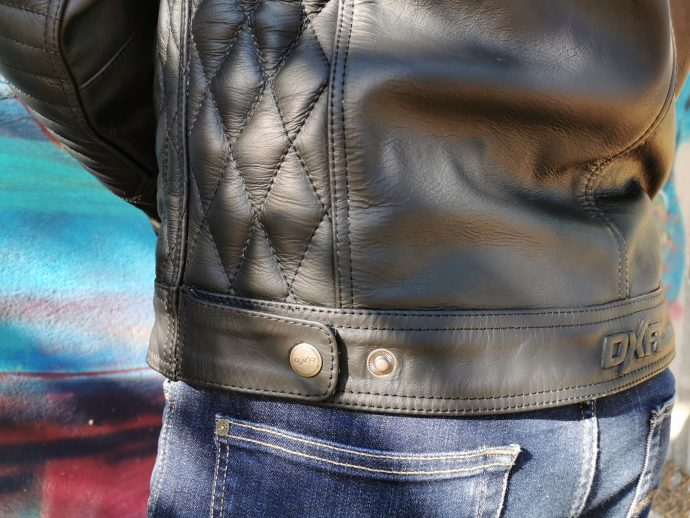le blouson cuir DXR Blacksmith un blouson vintage
