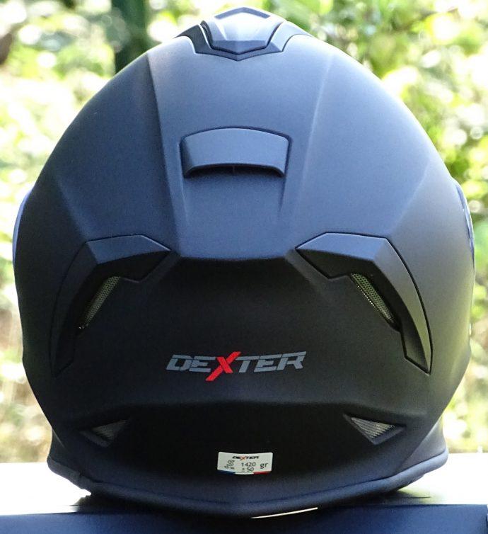 arrière du casque intégral dexter izoard 2