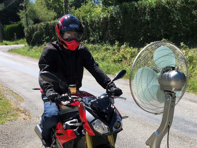 blouson Alpinestars Calabasas Air, hyper ventilé