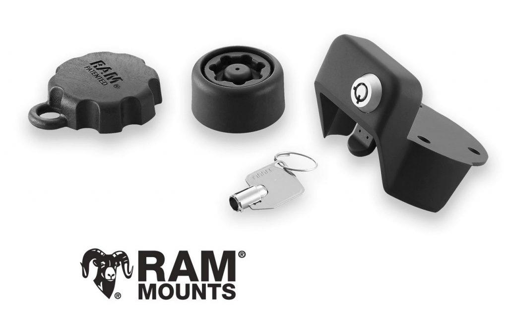 Verrouillage Ram Mounts pour GPS
