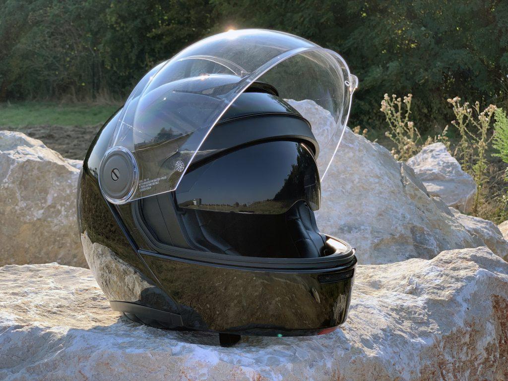 écran solaire du casque HJC V90