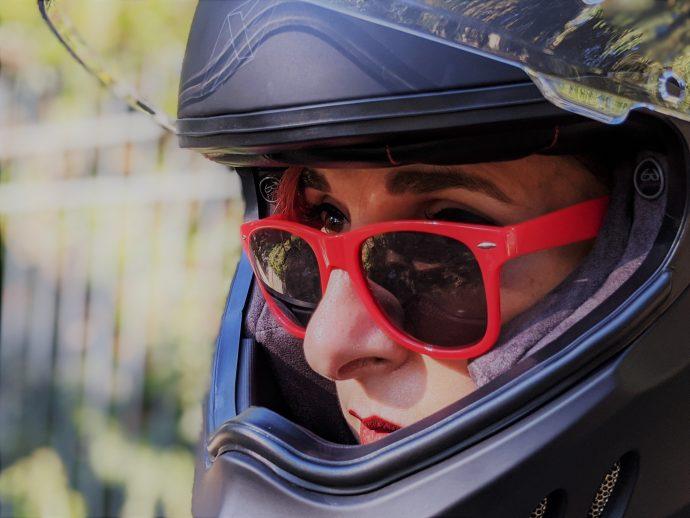 casque comando dexter noir matt compatible avec lunettes