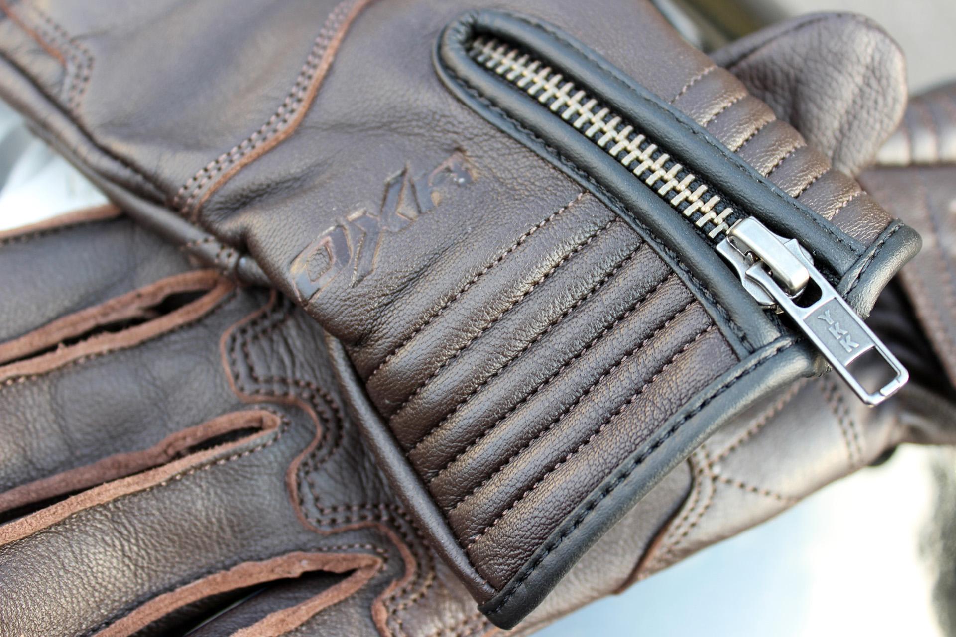 Essai des gants DXR Lady Claymore en marron vintage