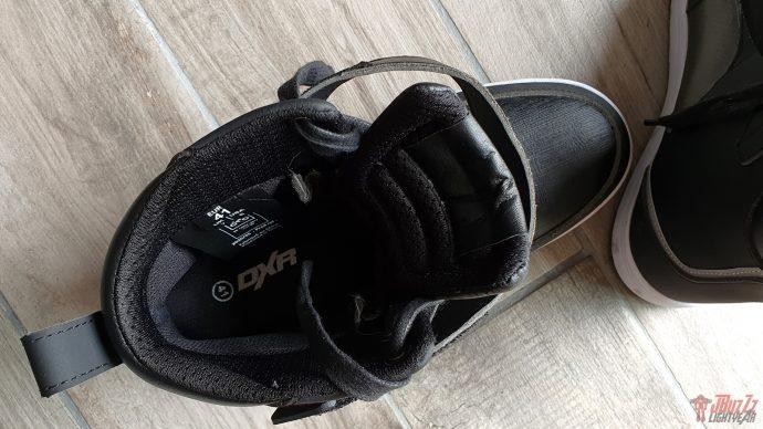 intérieur étanche et ventilé pour les baskets DXR Jordan
