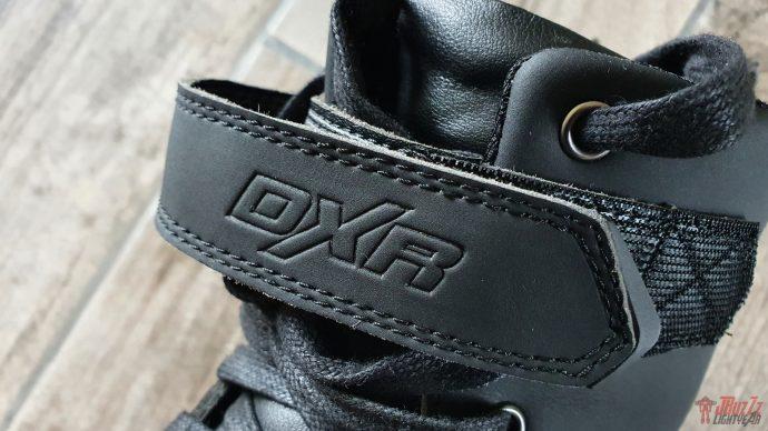 logo DXR parfaitement intégré aux baskets DXR Jordan