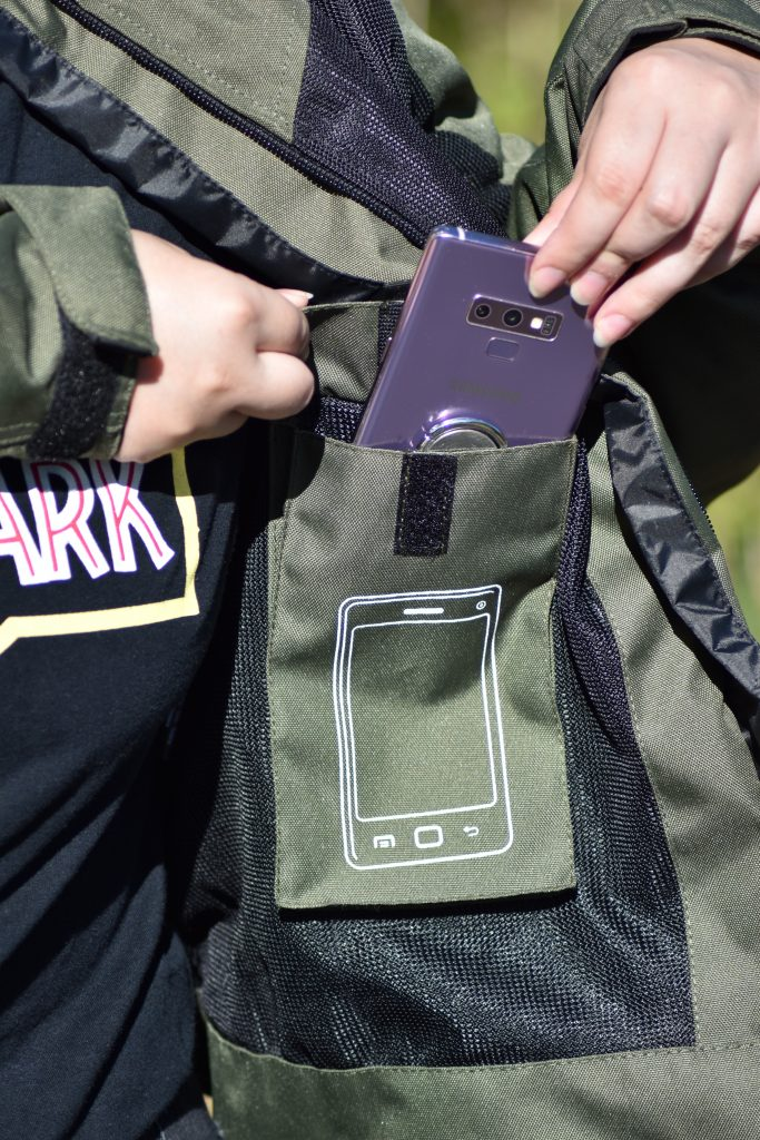 DXR R STREAM LADY CE : poche téléphone