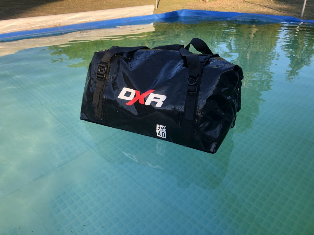 DXR Over-Dive – Le test de la piscine