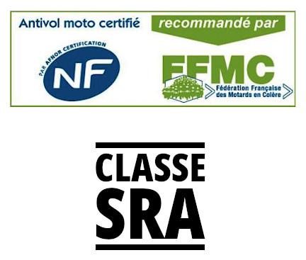 Logos NF/FFMC et SRA